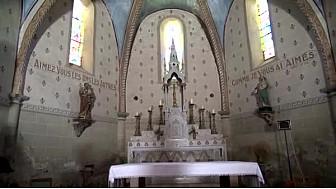 Patrimoine: l'église de Lacourt-Saint-Pierre présentée par les jeunes reporters.