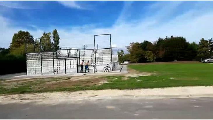 Un city stade à Lacourt-Saint-Pierre
