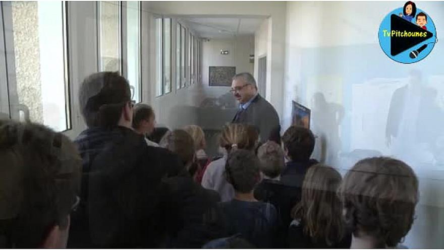 Le ressenti des jeunes reporters de Lacourt-Saint-Pierre après avoir interview Pierre Besnard @Prefet_82  . @EducationFrance #TvLocale_fr