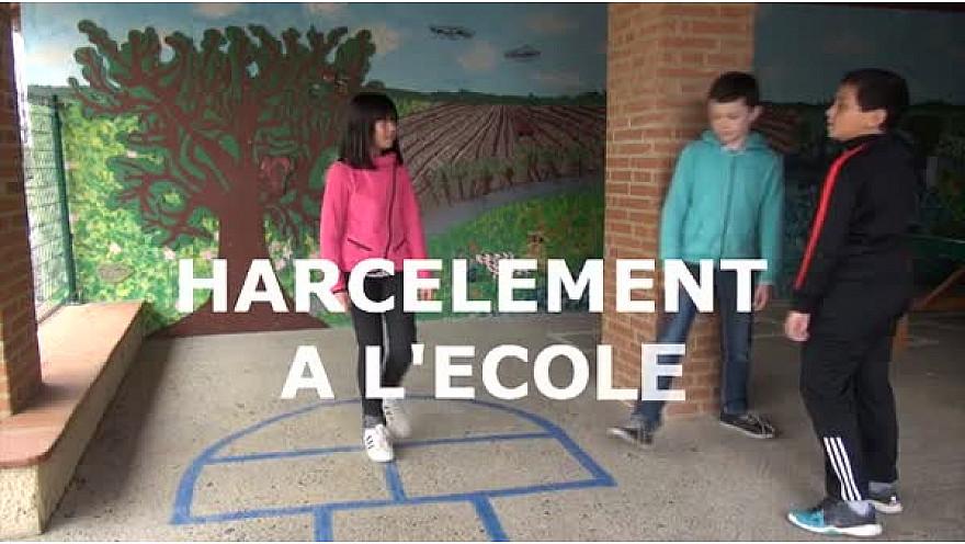 Le harcèlement à l'école, tous responsables. Court métrage réalisé par les élèves de CM2 de Lacourt Saint Pierre