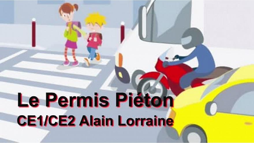 Ateliers Web Reporter CINOR - Le permis piéton – CE1/CE2 Alain Lorraine - Saint-Denis