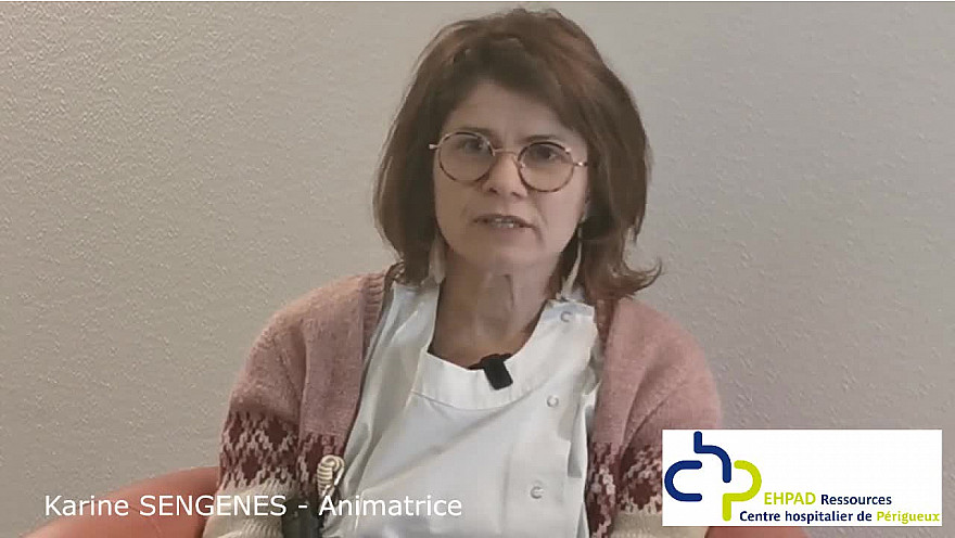 Métiers en EHPAD - Portrait : Animatrice
